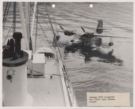 grumman, n703, aircraft, teal, ship, vintage, picture