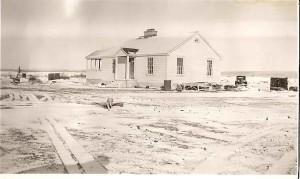 historické, image, residence, letiska muleshoe, púšti útočisko