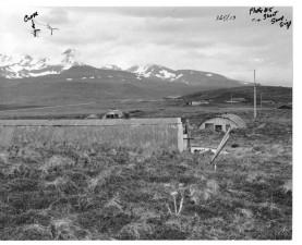 militaire, ruines, vieux, photo, album