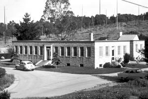 fotografia, mor, laboratórne budovy, San Francisco, pole, stanica