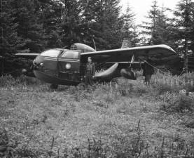 pilot, mempersiapkan, pesawat patroli, penerbangan, sejarah, foto