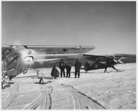 plane, crew, front, plane, history, photo
