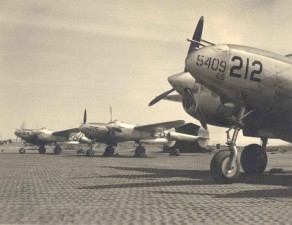 several, aircraft, world, war, two, runway