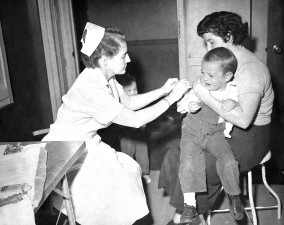 small, child, received, smallpox, vaccination, local, health, department