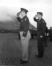 soldiers, world, war, two, saluting