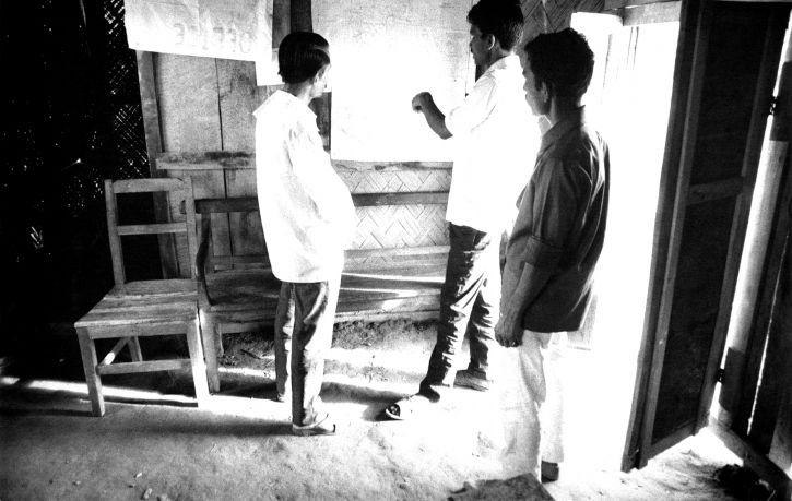 Bangladesh, män, bosatta, thana