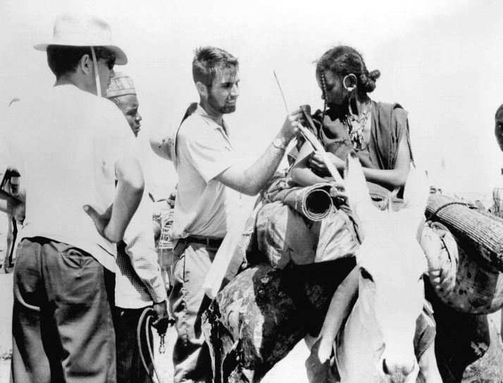 kadın, aşı, çiçek hastalığı, 1968, Afrika, aşı, campaignn