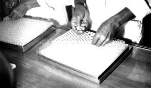 two, technicians, Bangladesh, laboratory, sorting, collection, glass, vials