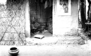 typical, village, home, state, poverty, dispersed, out, Bangladesh, communities
