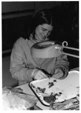 Frauen, Arbeit, Labor, Jahrgang, schwarz-weiß Fotografie