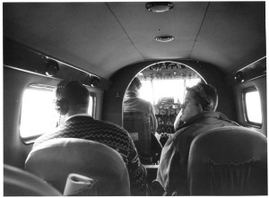 les hommes, les avions, cockpit, vieux, cru, photo