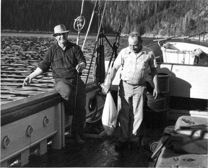 vieux, cru, photographie, pêcheur, bateau