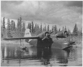 стари, вода, равнина, самолети, реколта, картина