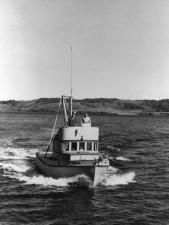 Patrouille, Boot, Jahrgang, Foto