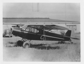 small, airplane, vintage, historical, photo