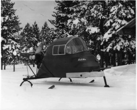 snow, mobile, vehicle