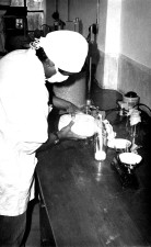 technician, Bangladesh, laboratory, process, preparing, mixture