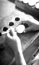technician, Bangladesh, laboratory, process, preparing, embryonated, chicken, egg