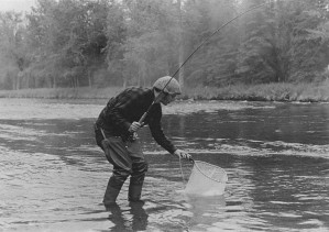 unidentified, fisherman, vintage, old, picture