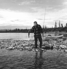 vintage, fishing, grayling, fishing