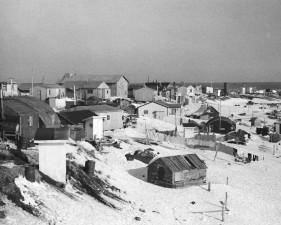 vintage, photographie, idyllique, paysage, hiver