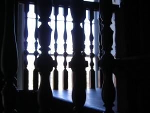 antebellum, stair, railing