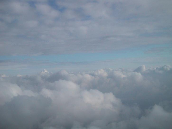 Image libre nuages bureau papier peint for Papier peint bureau pc