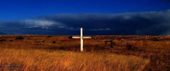十字架, 公墓