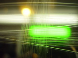 green, abstract, scored, perspex