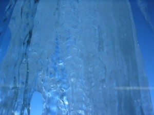 hielo, fondo