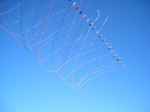 kite, ciel