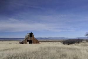 scenic, old, barn, scenic, landscape